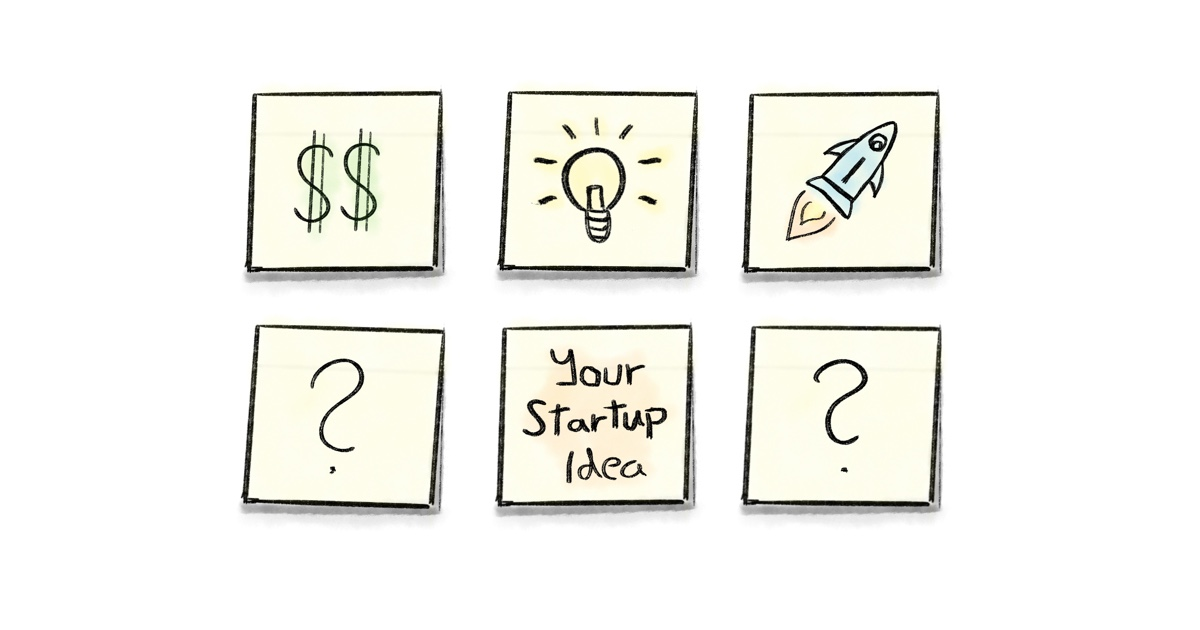 cover img from How to come up with a million-dollar startup idea